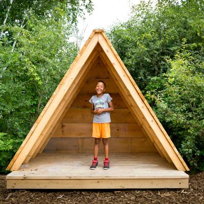 Kids park structure