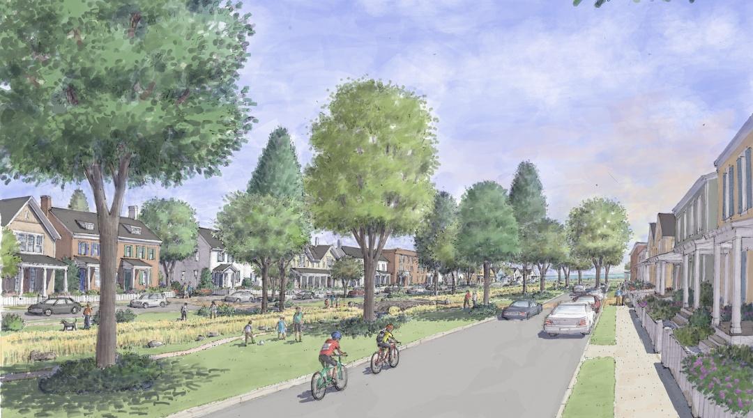 Boulevard Park Ground Level Illustration