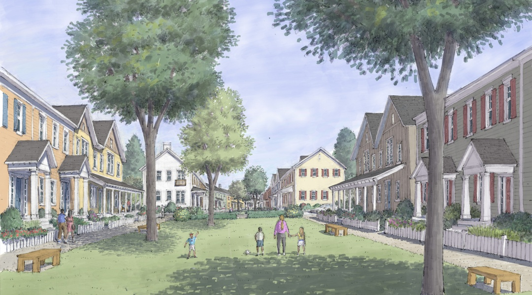 Ridgetop Park Ground Level Illustration